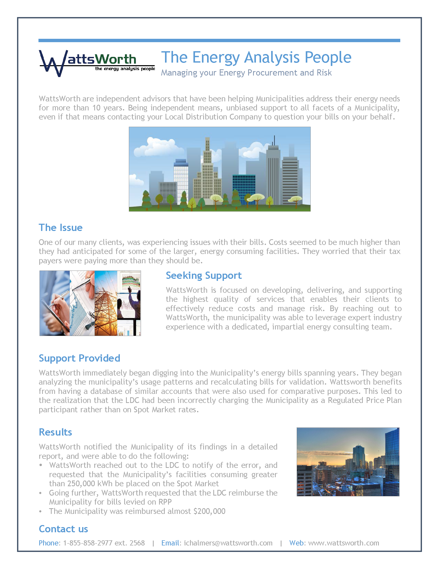 Case Study - Municpality (Website)